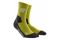 CEP Outdoor Light Merino Mid-Cut Socks / Женские компрессионные носки, тонкие, с шерстью мериноса, Утепленные - в интернет магазине спортивных товаров Tri-sport!