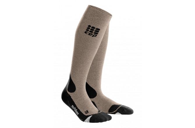 CEP Outdoor Merino Socks / Мужские компрессионные гольфы, с шерстью мериноса, Компрессионные гольфы и гетры - в интернет магазине спортивных товаров Tri-sport!