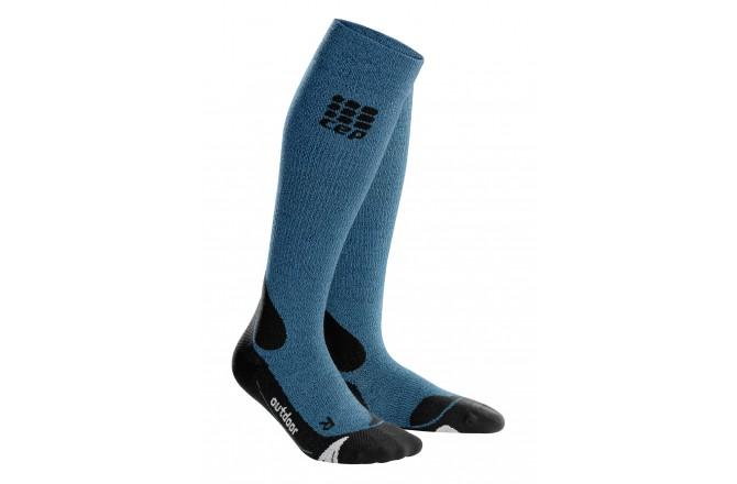 CEP Outdoor Merino Socks / Женские компрессионные гольфы, с шерстью мериноса, Компрессионные гольфы и гетры - в интернет магазине спортивных товаров Tri-sport!