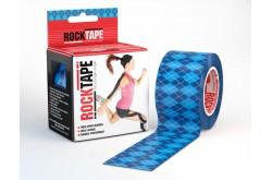 Rocktape 5x5 см Синий узор / Кинезиологический тейп, Тейпы - в интернет магазине спортивных товаров Tri-sport!