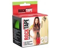 Rocktape H2O 5cm x 5m / Кинезиологический тейп экстра-водостойкий лаймово-зеленый