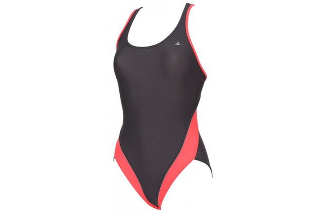 Aqua Sphere Madonna gray/red / Купальник женский, Купальники - в интернет магазине спортивных товаров Tri-sport!