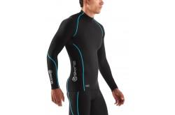 Skins Bio A200 Mens Thermal L/S Mck Neck Black/Neon / Футболка с воротом с длинным рукавом, Компрессионное термобелье - в интернет магазине спортивных товаров Tri-sport!