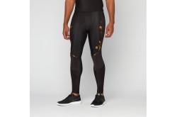 Skins A400 Mens Gold Long Tights / Тайтсы длинные мужские, Компрессионные шорты и тайтсы - в интернет магазине спортивных товаров Tri-sport!
