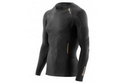 Skins A400 Mens Gold Top Long Sleeve / Футболка с длинным рукавом мужская, Компрессионные футболки - в интернет магазине спортивных товаров Tri-sport!