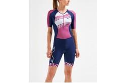 2XU Compression Sleeved Trisuit 2019 / Женский компрессионный стартовый костюм с рукавами, Триатлон - в интернет магазине спортивных товаров Tri-sport!