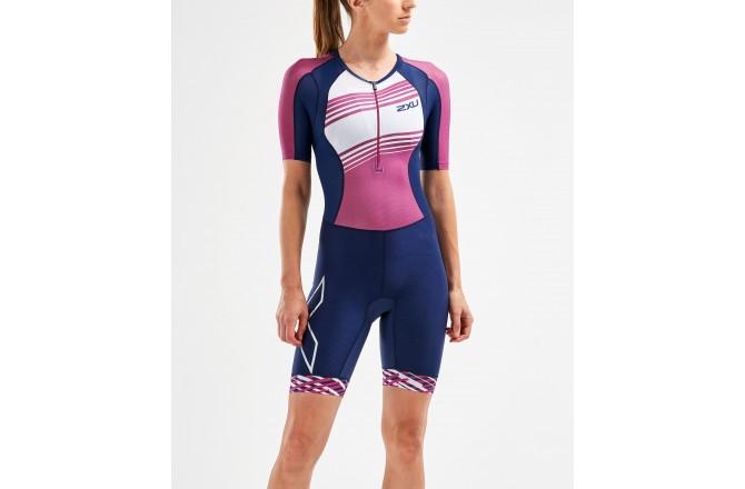 2XU Compression Sleeved Trisuit 2019 / Женский компрессионный стартовый костюм с рукавами, Стартовые костюмы - в интернет магазине спортивных товаров Tri-sport!