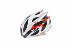 Каска Rudy Project Rush White/Red Fluo Shiny M, Шлемы - в интернет магазине спортивных товаров Tri-sport!