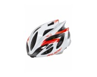 Каска Rudy Project Rush White/Red Fluo Shiny S