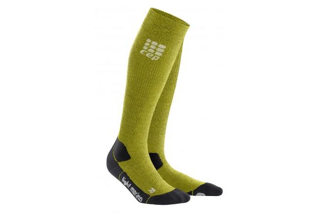 CEP Outdoor Light Merino Socks / Женские компрессионные гольфы, тонкие, с шерстью мериноса, Гольфы - в интернет магазине спортивных товаров Tri-sport!