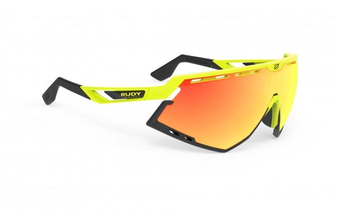 Rudy Project Defender Yellow Fluo Gloss - Mls Orange / Очки, Очки - в интернет магазине спортивных товаров Tri-sport!