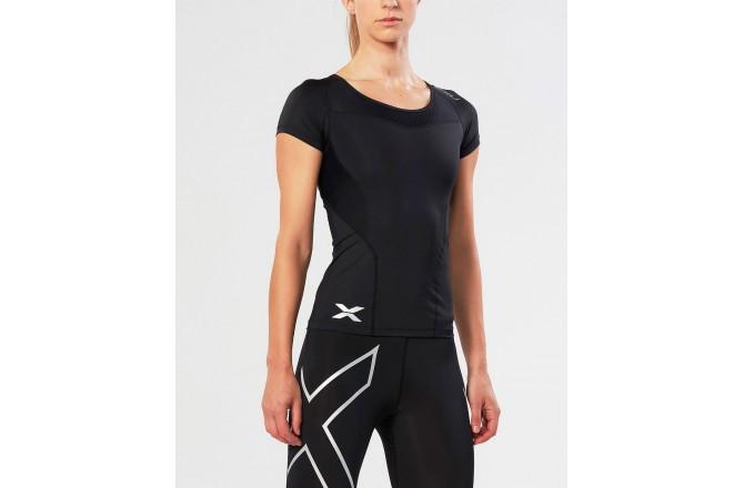 2XU Compression Short Sleeve Top / Женская компрессионная футболка, Футболки и кофты - в интернет магазине спортивных товаров Tri-sport!