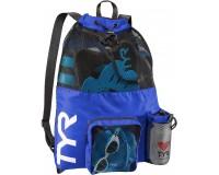TYR Big Mesh Mummy Bag Голубой / Рюкзак для аксессуаров