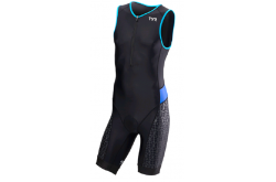 TYR Men'S Competitor Padded Front Zip Tri Suit  / Стартовый костюм