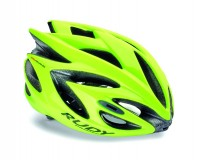 Rudy Project RUSH YELLOW FLUO SHINY S / Каска