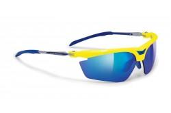 Rudy Project MAGSTER YELLOW FLUO - M/LS BLUE+TRAS / Очки, Очки - в интернет магазине спортивных товаров Tri-sport!