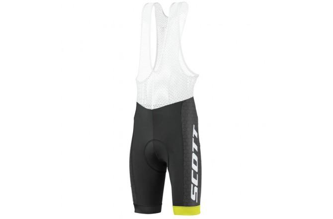 Scott RC Pro +++ black/sulphur yellow / Велошорты с лямками, Шорты - в интернет магазине спортивных товаров Tri-sport!