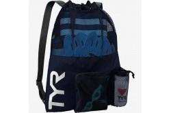 TYR Big Mesh Mummy Bag Темно-синий / Рюкзак для аксессуаров, Аксессуары для плавания - в интернет магазине спортивных товаров Tri-sport!
