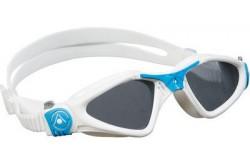 Aqua Sphere Kayenne Small / Очки для плавания (бел/голуб/темн.линзы), Очки для открытой воды и тренировок - в интернет магазине спортивных товаров Tri-sport!