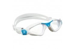 Aqua Sphere Kayenne Small / Очки для плавания (бел/голуб/прозр. линзы), Очки для открытой воды и тренировок - в интернет магазине спортивных товаров Tri-sport!