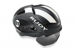 Rudy Project BOOST 01 + визор BLACK - WHITE MATT S/M / Каска, Шлемы - в интернет магазине спортивных товаров Tri-sport!