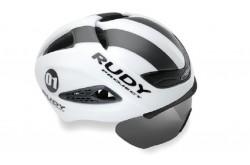 Rudy Project BOOST 01 + визор WHITE - GRAPHITE MATT L / Каска, Шлемы - в интернет магазине спортивных товаров Tri-sport!