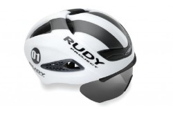 Rudy Project BOOST 01 + визор WHITE - GRAPHITE MATT S/M / Каска, Шлемы - в интернет магазине спортивных товаров Tri-sport!