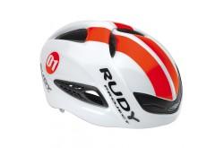 Rudy Project BOOST 01 + визор WHITE - RED FLUO SHINY L / Каска, Шлемы - в интернет магазине спортивных товаров Tri-sport!