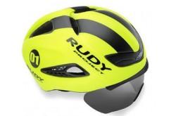 Rudy Project BOOST 01 + визор YELL FLUO - BLACK MATT L / Каска, Шлемы - в интернет магазине спортивных товаров Tri-sport!