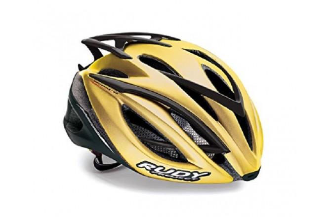 Rudy Project RACEMASTER GOLD SHINY L / Каска, Шлемы шоссейные - в интернет магазине спортивных товаров Tri-sport!
