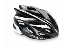 Rudy Project RUSH BLACK/WHITE SHINY MIPS M / Каска, Шлемы - в интернет магазине спортивных товаров Tri-sport!