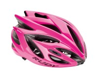 Rudy Project RUSH PINK FLUO SHINY M / Каска