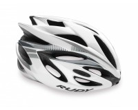 Rudy Project RUSH WHITE/SILVER SHINY MIPS S / Каска @