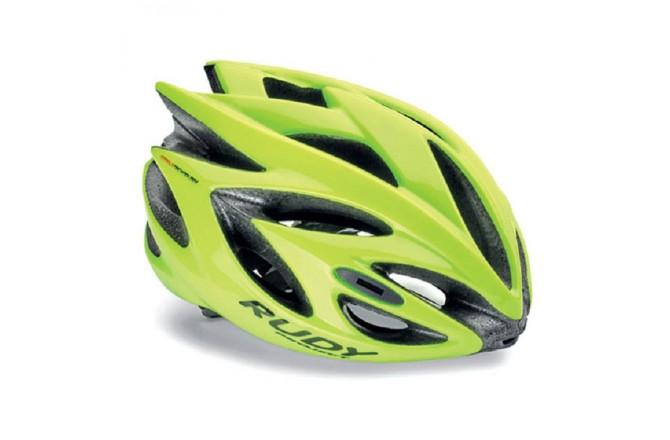 Rudy Project Rush Yellow Fluo Shiny L / Шлем, Шлемы шоссейные - в интернет магазине спортивных товаров Tri-sport!