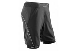 Функциональные шорты CEP 2 в 1 для бега, мужские, Компрессионные шорты и тайтсы - в интернет магазине спортивных товаров Tri-sport!