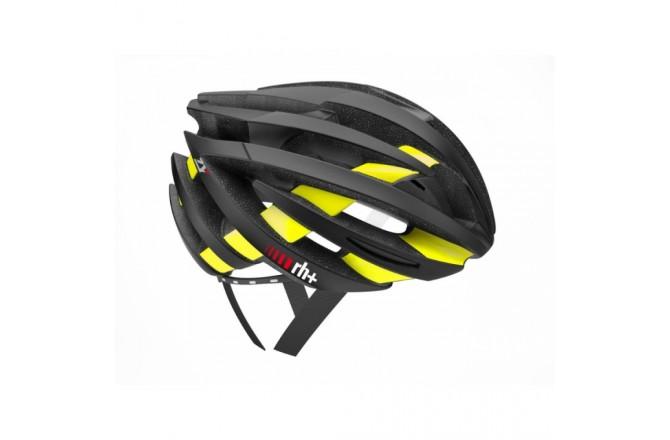 Zerorh+ ZY (Matt Black-Bridge Shiny Yellow Fluo) / Шлем велосипедный, Шлемы - в интернет магазине спортивных товаров Tri-sport!