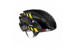 Zerorh+ Z Alpha MIPS(Matt Black-Shiny Bk-Matt Bk stripes Shiny Yellow Fluo) / Шлем велосипедный, Шлемы - в интернет магазине спортивных товаров Tri-sport!