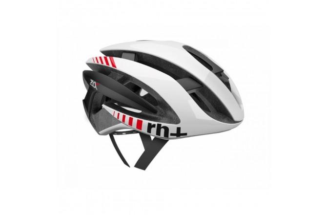 Zerorh+ Z Alpha (Shiny White-Shiny White-Matt Black) / Шлем велосипедный, Шлемы - в интернет магазине спортивных товаров Tri-sport!
