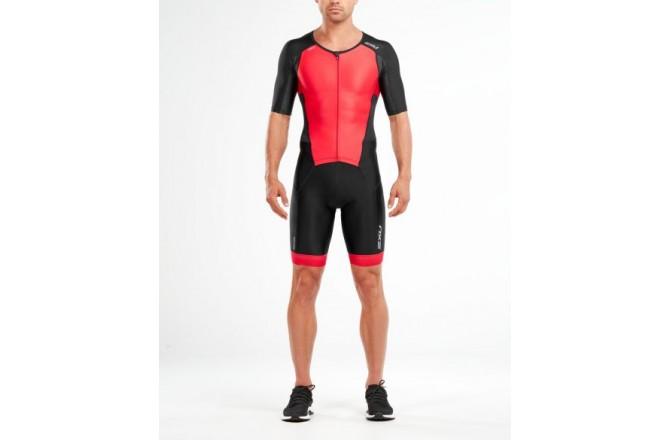 2XU Perform FullZip Sleeved Trisuit / Мужской стартовый костюм с рукавами, Стартовые костюмы - в интернет магазине спортивных товаров Tri-sport!