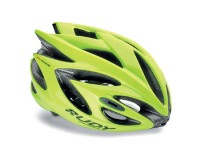 Rudy Project RUSH YELLOW FLUO SHINY M / Каска@