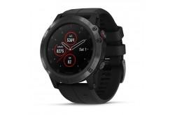 Garmin Fenix 5X Plus Sapphire Черный / Смарт-часы беговые с GPS, HR и Garmin Pay, Пульсометры - в интернет магазине спортивных товаров Tri-sport!