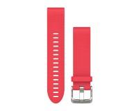 Garmin QuickFit Розовый / Сменный ремешок для часов силиконовый (20mm)