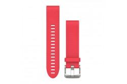 Garmin QuickFit Розовый / Сменный ремешок для часов силиконовый (20mm), Гаджеты - в интернет магазине спортивных товаров Tri-sport!