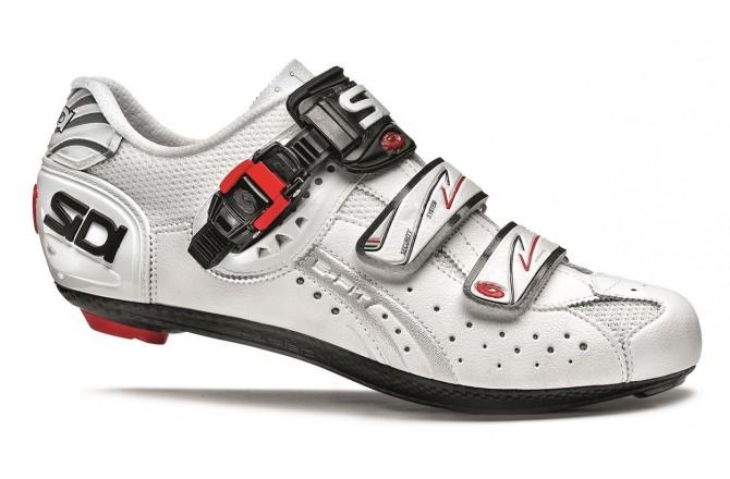 SIDI GENIUS 5-FIT Carbon / Велотуфли белый, Велообувь шоссе - в интернет магазине спортивных товаров Tri-sport!