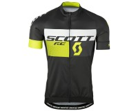 Майка Scott RC Pro к/рук black/yellow