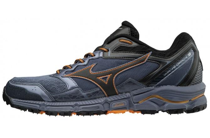 Mizuno Wave Daichi 3 (UK) / Мужские внедорожные кроссовки, По бездорожью - в интернет магазине спортивных товаров Tri-sport!
