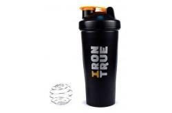 IRONTRUE Orange - Black 600ml / Шейкер, Питание - в интернет магазине спортивных товаров Tri-sport!
