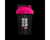 IRONTRUE Pink- Black 500ml / Шейкер