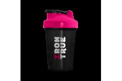 IRONTRUE Pink- Black 500ml / Шейкер, Питание - в интернет магазине спортивных товаров Tri-sport!