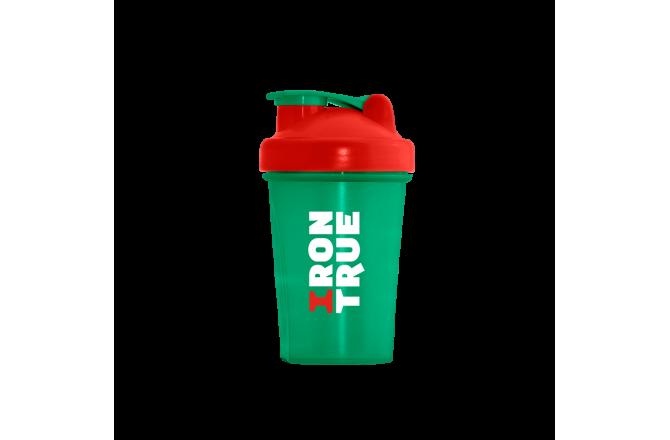 IRONTRUE Green - Red - Green 400ml / Шейкер, Шейкеры - в интернет магазине спортивных товаров Tri-sport!